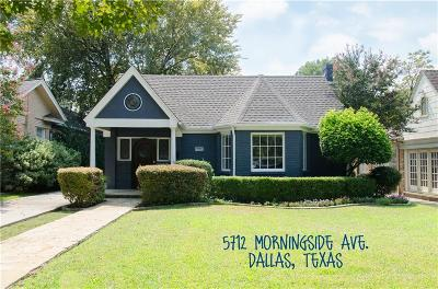 Single Family Home For Sale: 5712 Morningside Avenue