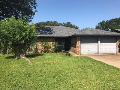 Single Family Home For Sale: 3206 Steeplechase Trail
