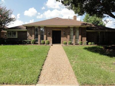Single Family Home For Sale: 9739 Burleson Drive