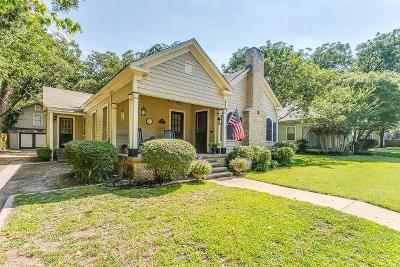 Weatherford Single Family Home For Sale: 115 W Lee Avenue
