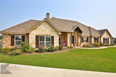 Abilene Single Family Home For Sale: 210 Angie Lane