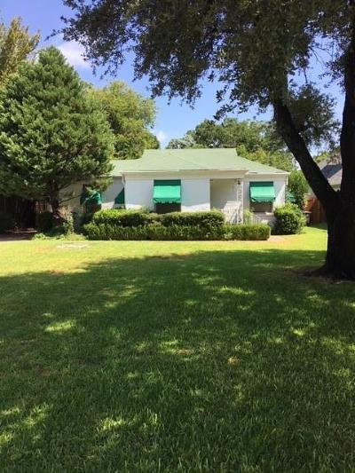 Fort Worth Single Family Home For Sale: 3716 Hilltop Road