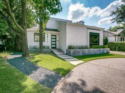 Single Family Home For Sale: 4611 Westside Drive