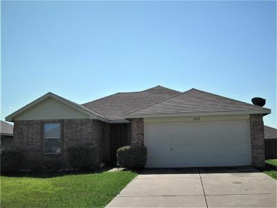 Terrell Single Family Home For Sale: 1812 Willowbrook Drive
