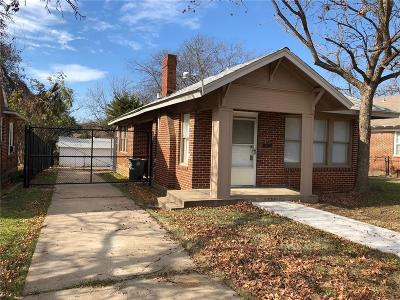 Dallas Single Family Home For Sale: 823 S Montclair Avenue