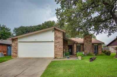 Bedford Single Family Home For Sale: 3801 Walnut Drive