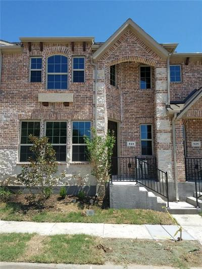 Lewisville Townhouse For Sale: 929 Shelby Lane