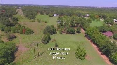 Argyle Residential Lots & Land For Sale: 1300 Old Alton Road