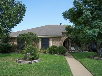 Allen Single Family Home Active Contingent: 409 Rose Drive
