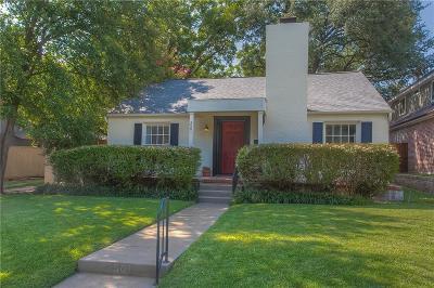 Tarrant County Single Family Home For Sale: 3501 Bristol Road