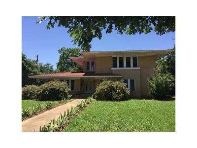 Brownwood Single Family Home For Sale: 1911 Austin Avenue