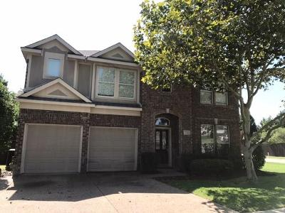 McKinney Single Family Home For Sale: 700 Brookwater Drive
