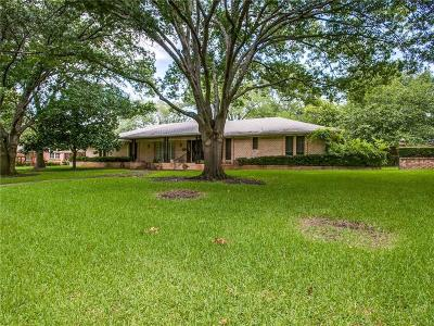 Single Family Home For Sale: 4227 Hockaday Drive