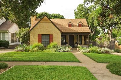 Dallas Single Family Home For Sale: 2415 W 10th Street