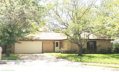 Bedford Single Family Home For Sale: 1608 Trinity Court
