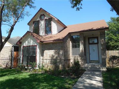 Dallas Single Family Home For Sale: 10607 Woodleaf Drive
