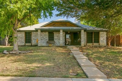 Lewisville Single Family Home Active Option Contract: 1553 Autumn Breeze Lane