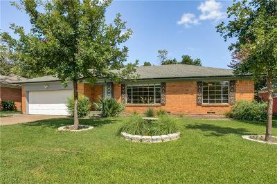 Garland Single Family Home For Sale: 1912 Hilltop Drive