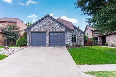 Plano Single Family Home Active Option Contract: 3844 Beaumont Lane