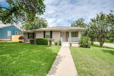 Dallas Single Family Home For Sale: 1703 Melbourne Avenue