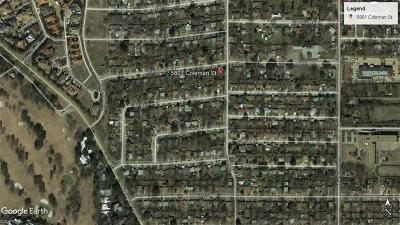 Tarrant County Residential Lots & Land For Sale: 5801 Coleman Street
