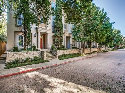 Dallas Townhouse For Sale: 3258 N Haskell Avenue