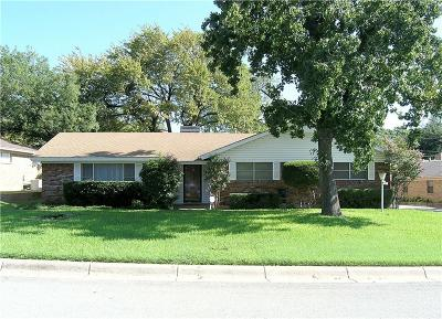 Fort Worth TX Single Family Home For Sale: $159,000