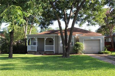 Garland Single Family Home For Sale: 1618 James Drive