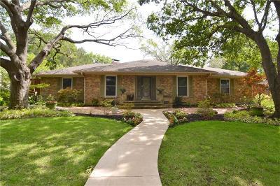 Dallas Single Family Home For Sale: 7736 Woodstone Lane