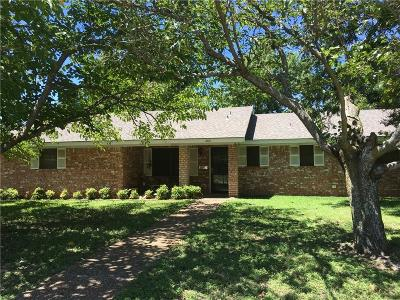 Stephenville Single Family Home For Sale: 2611 Holly Street