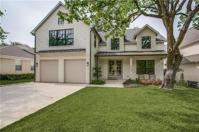 Dallas Single Family Home For Sale: 4107 Sperry Street