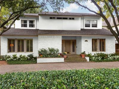 Single Family Home For Sale: 4105 Shenandoah Street
