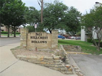 Dallas Condo For Sale: 7621 McCallum Boulevard #207