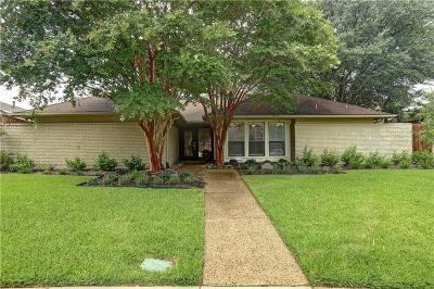 Dallas Single Family Home For Sale: 16142 Shadybank Drive