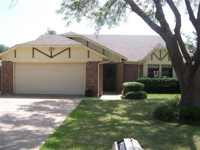 Grapevine Single Family Home Active Option Contract: 2322 Hummingbird Trail
