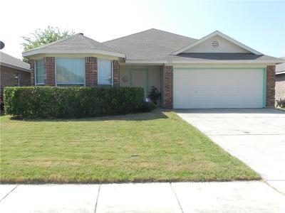 Single Family Home For Sale: 1316 Sierra Blanca Drive