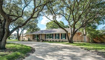 Dallas TX Single Family Home For Sale: $595,000