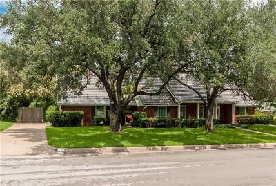 Fort Worth Single Family Home For Sale: 4412 Ranch View Road