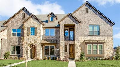Mckinney Townhouse For Sale: 3025 Decker Drive