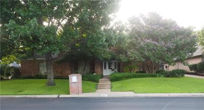 Mira Vista, Mira Vista Add, Trinity Heights, Meadows West, Meadows West Add, Bellaire Park, Bellaire Park North Single Family Home For Sale: 6417 Meadows West Drive