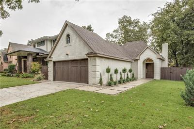 Dallas Single Family Home For Sale: 5536 Vickery Boulevard