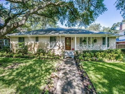 Dallas Single Family Home For Sale: 2527 Cambria Boulevard