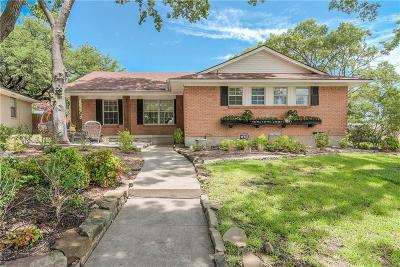 Dallas Single Family Home For Sale: 9755 Parkford Drive