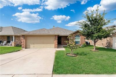 White Settlement Single Family Home Active Option Contract: 9324 Nathan Court
