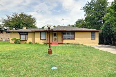 Seagoville Single Family Home Active Option Contract: 2702 Lynell Drive