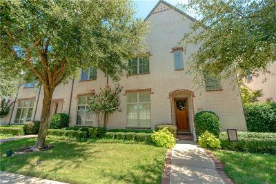 Coppell Townhouse For Sale: 814 Thornbury Way