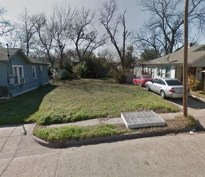 Dallas Residential Lots & Land For Sale: 3907 Crozier Street