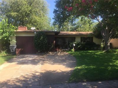 Dallas TX Single Family Home For Sale: $125,000