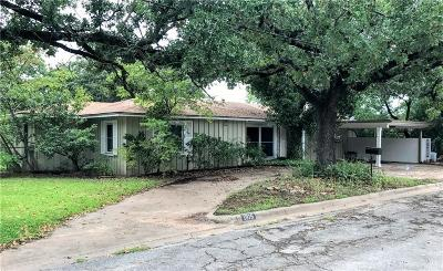 Mineral Wells Single Family Home Active Contingent: 1915 NW 6th Avenue