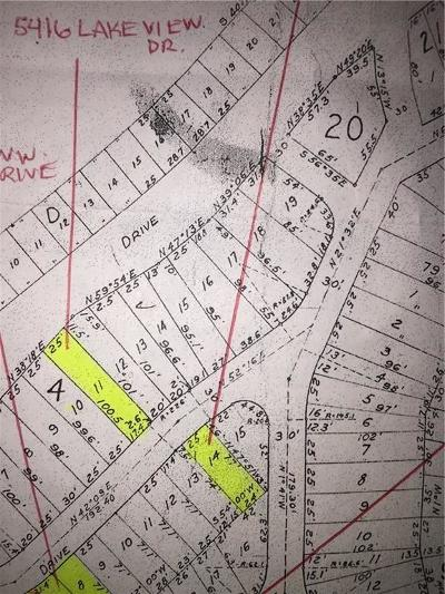 Tarrant County Residential Lots & Land For Sale: 5416 Lake View Drive